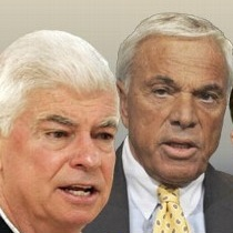 Senator Chris Dodd and former Countrywide CEO Angelo Mozilo