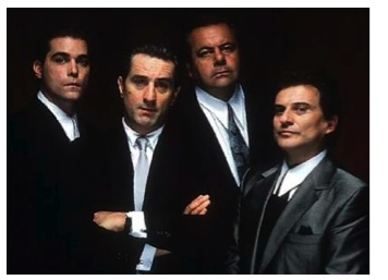 The Goodfellas: Henry Hill, Jimmy Conway, Paul Cicero, and Tommy DeVito