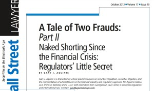 Tale of Two Frauds